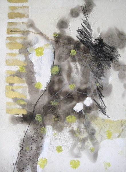 """18""""x24"""". carbon, charcoal, acrylic, ink on paper."""
