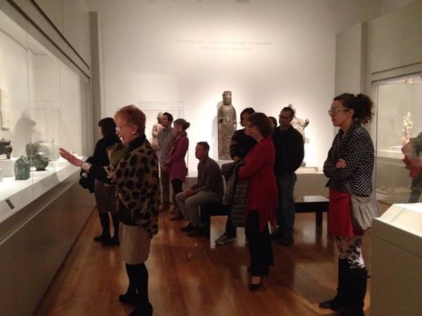 Amazing food inspired tour of VMFA!  Thanks Kristen and SOKE neighbors!